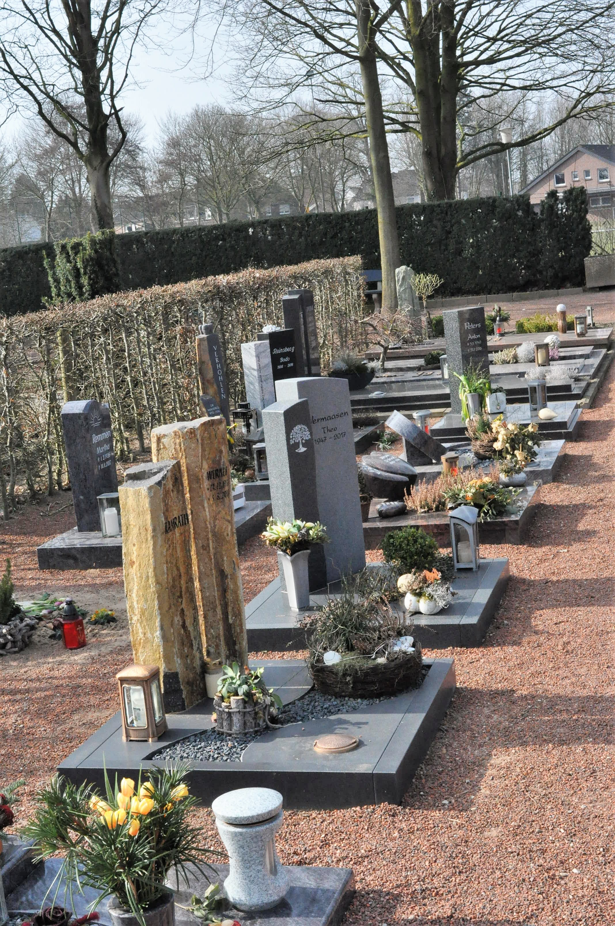 Our village Friedhof, or cemetery