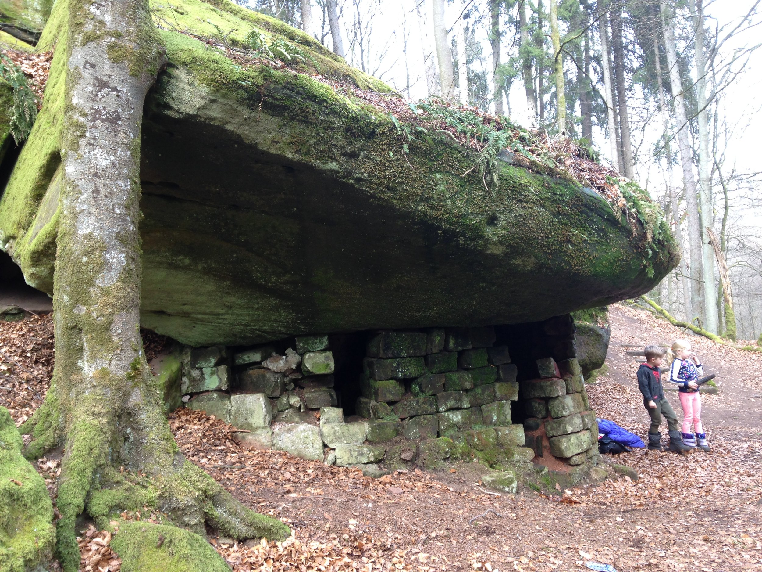 The mysterious cave dwelling!