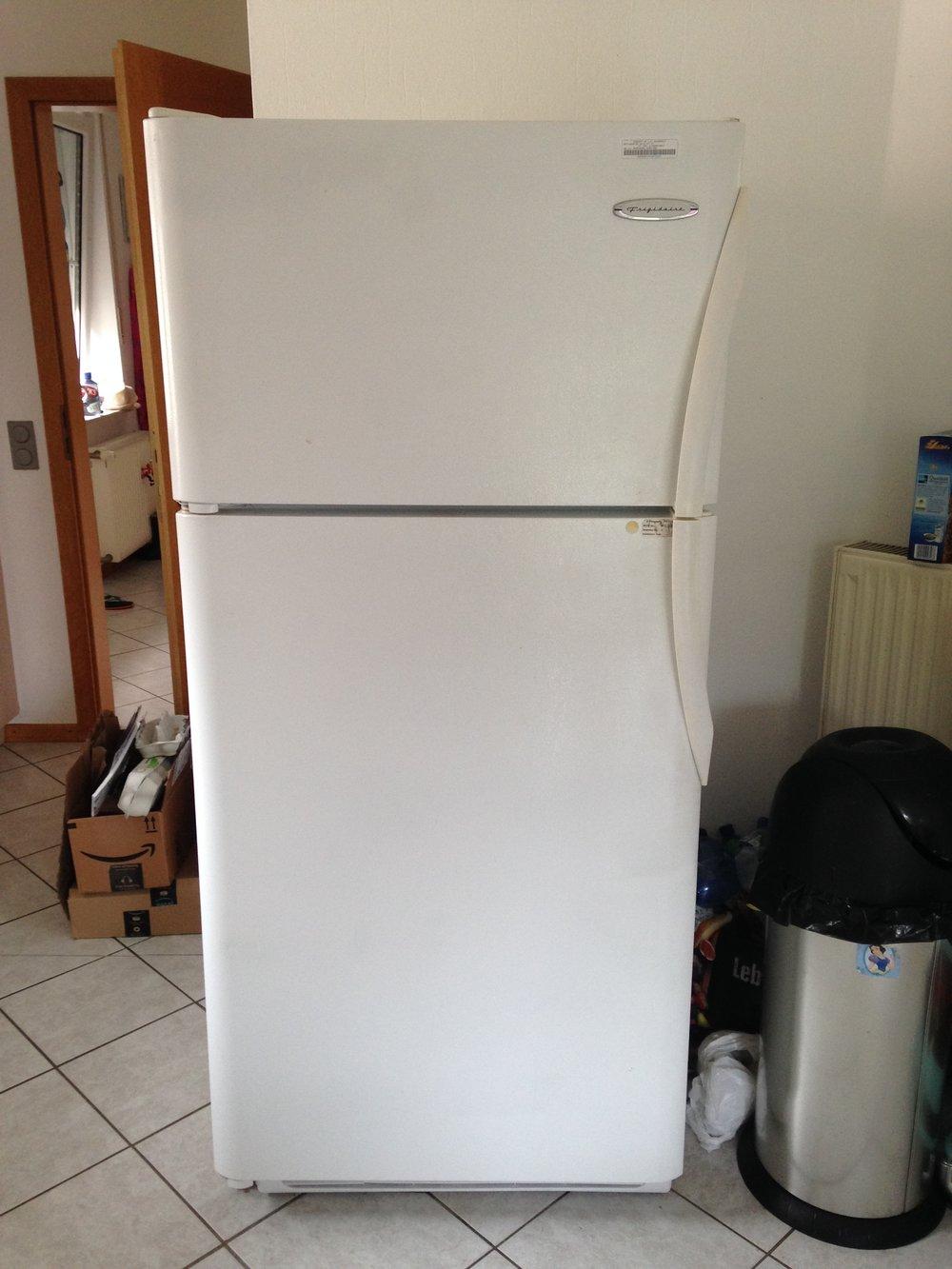 German Kühlschrank vs  American Refrigerator — Military
