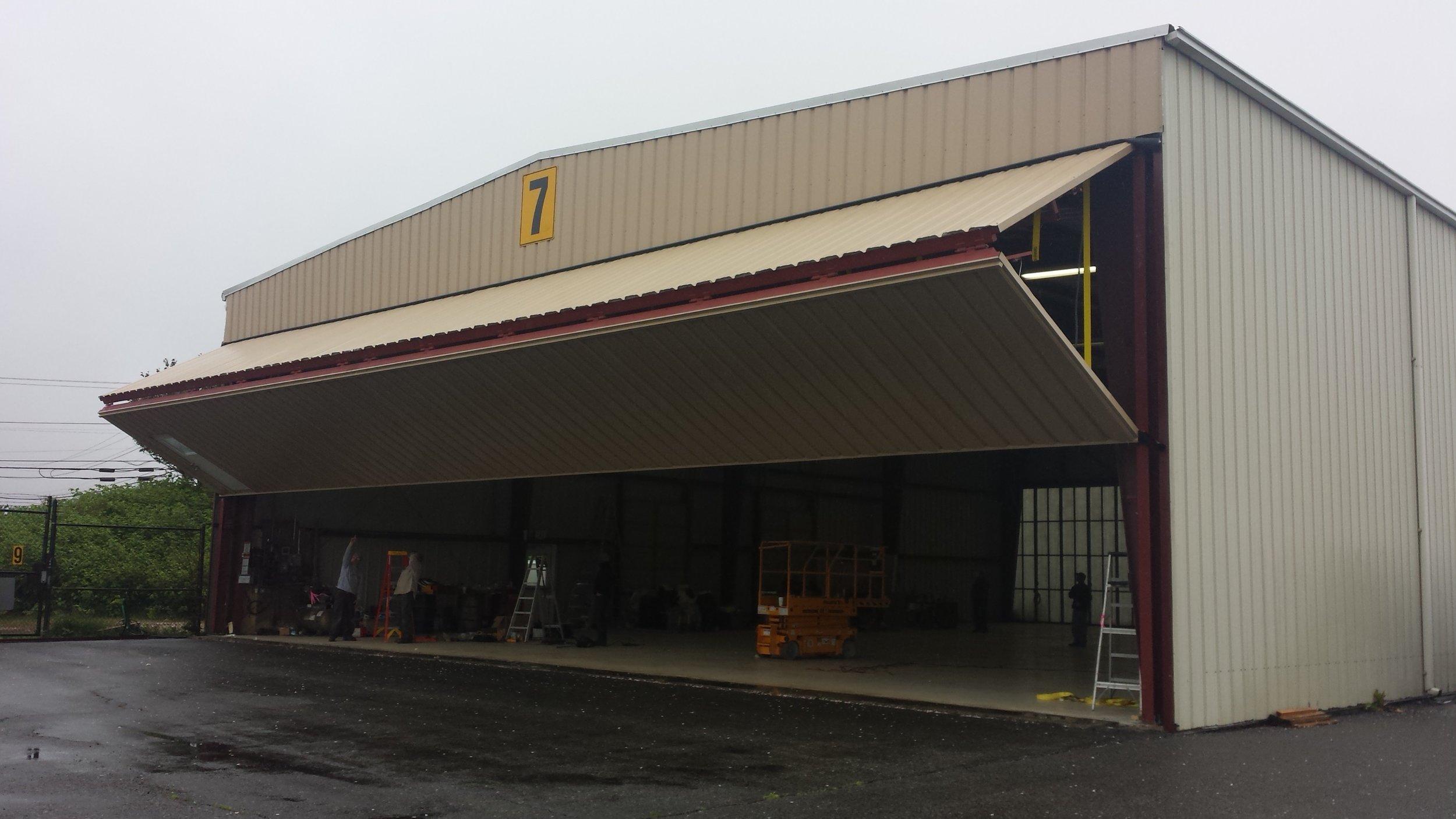 Hangar Door - Marine Center