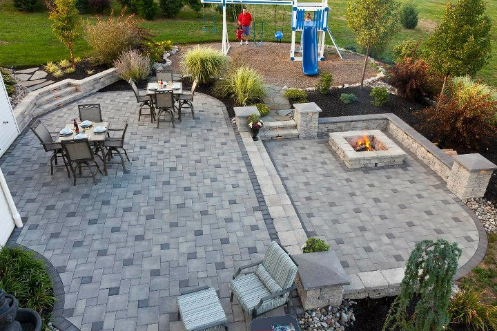 Experience fire pit landscape design company in Wayne Township, PA