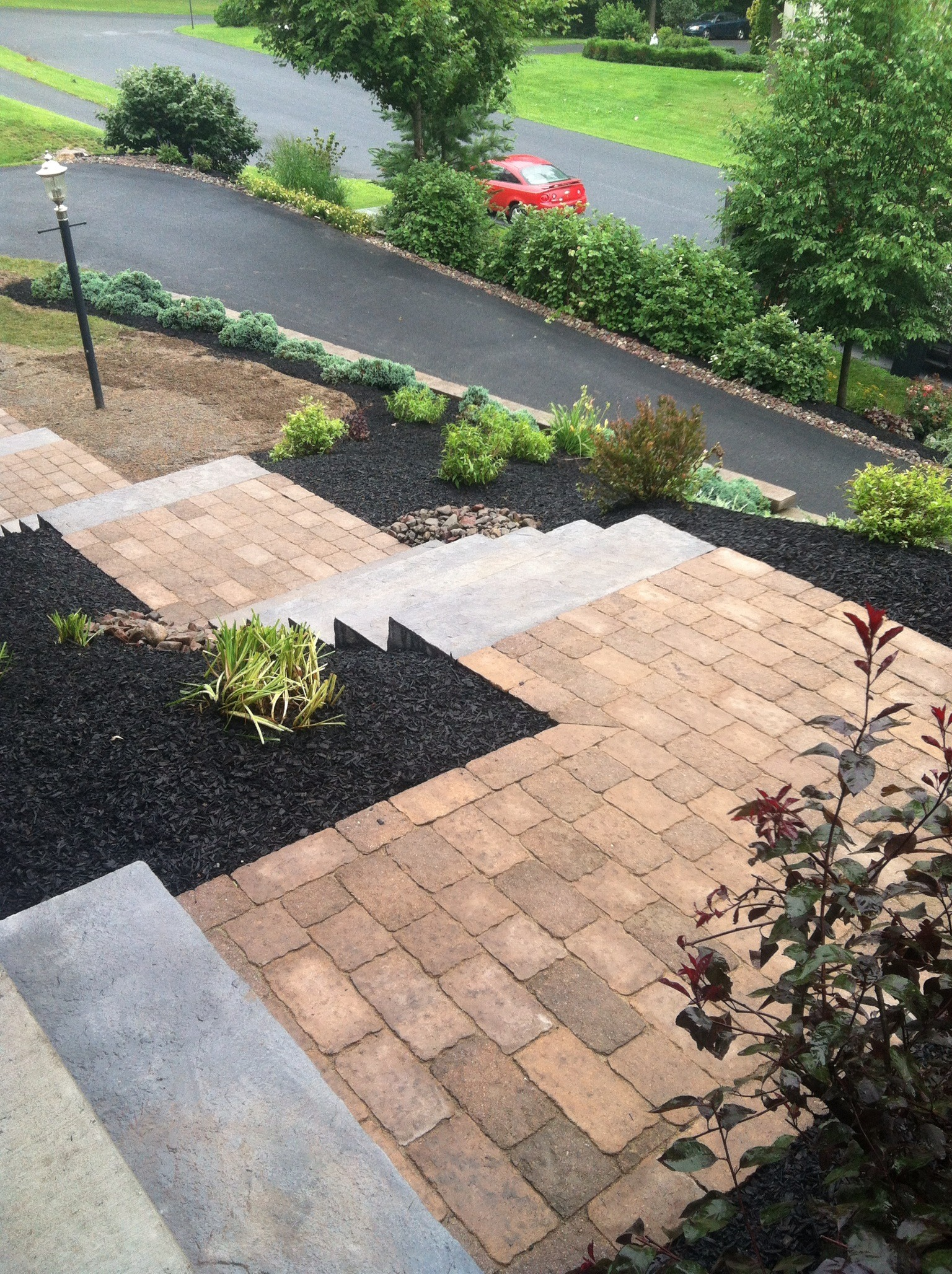 Professional flagstone installation company in Reading, PA
