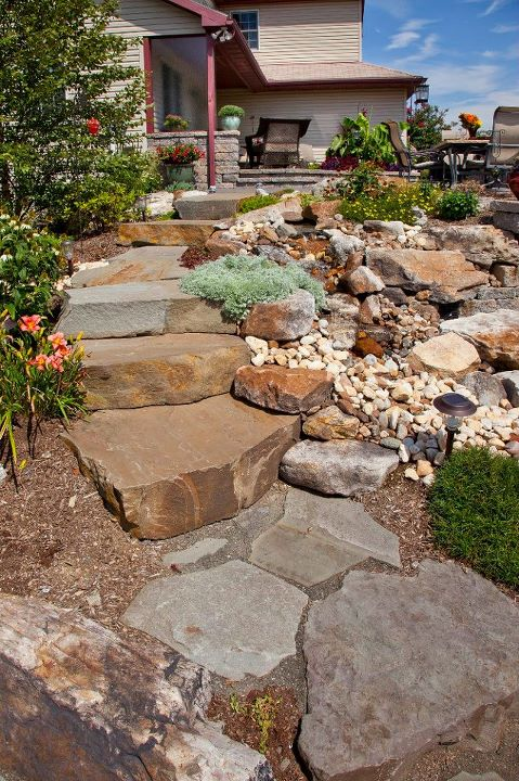 Expert landscape design with flagstone in Lebanon County, PA