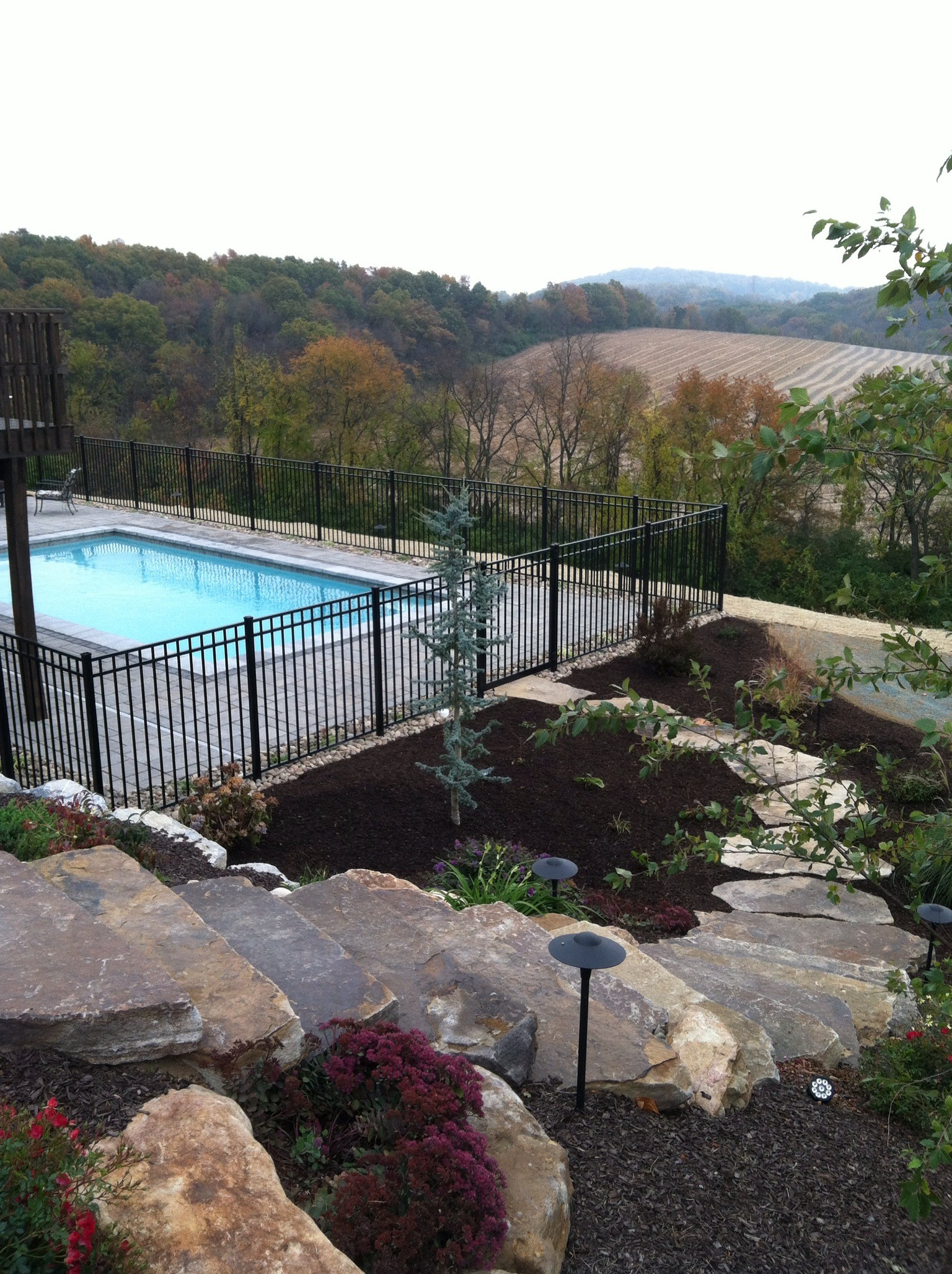 Top landscape design with outdoor lighting in Lebanon County, PA