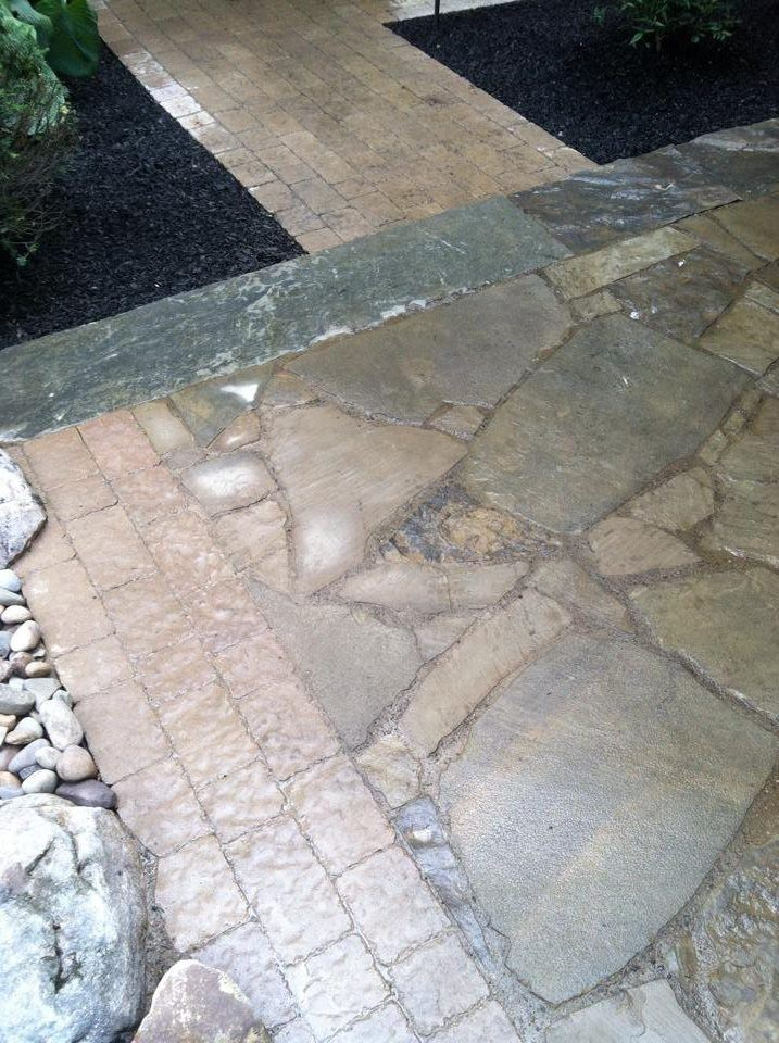 Expert landscape design with flagstone inLehigh county, PA