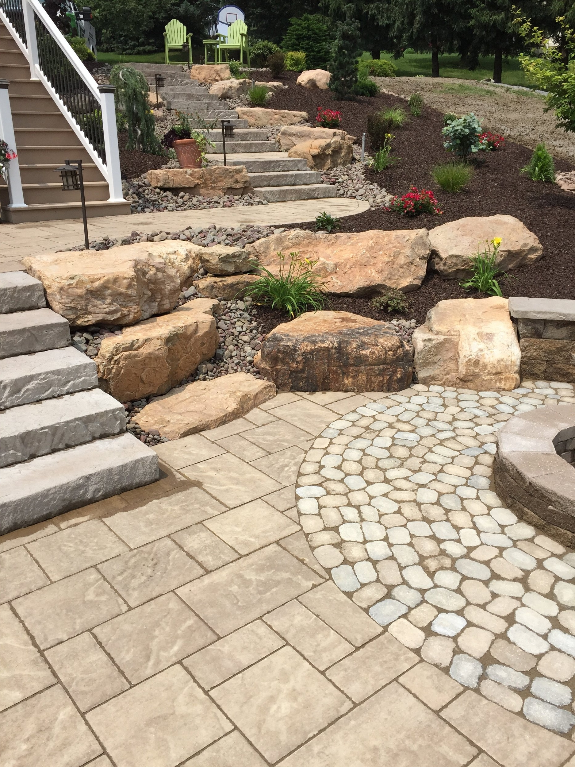 Experienced landscape pavers inWayne Township, PA