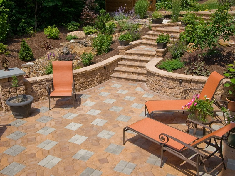 Landscape contractor with beautiful landscape patio ideas in Allentown, Lehigh county, PA