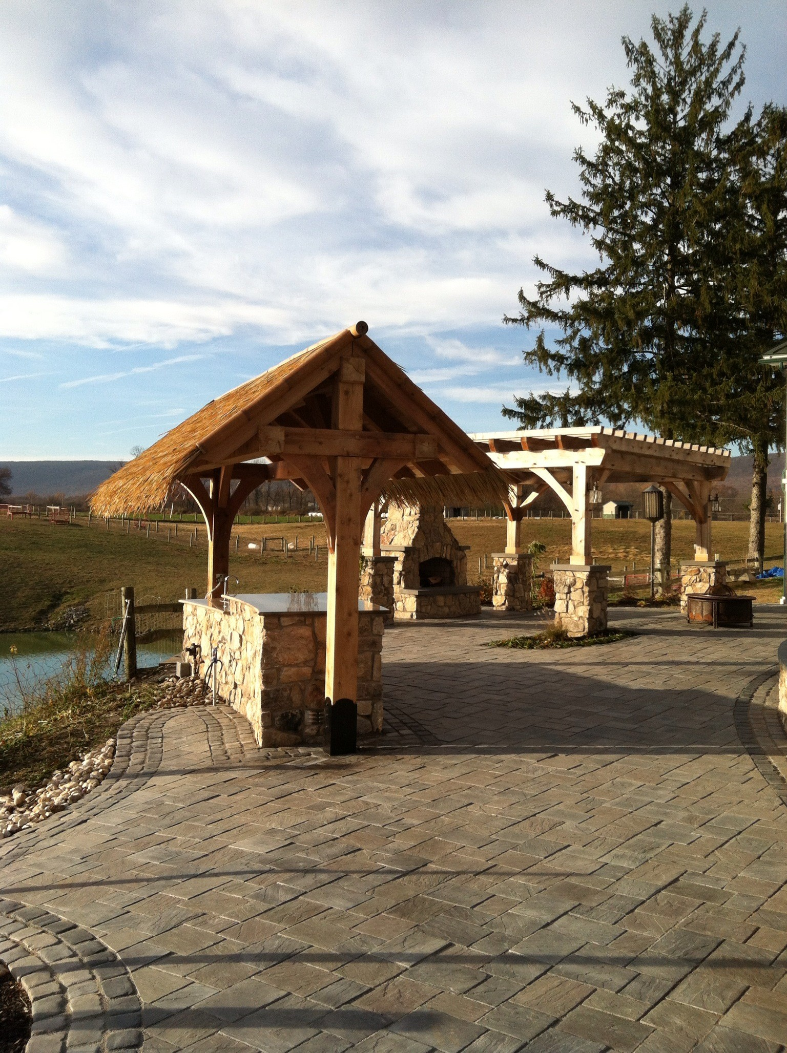 Landsacpe contractor in Pottsville, PA with top landscape design