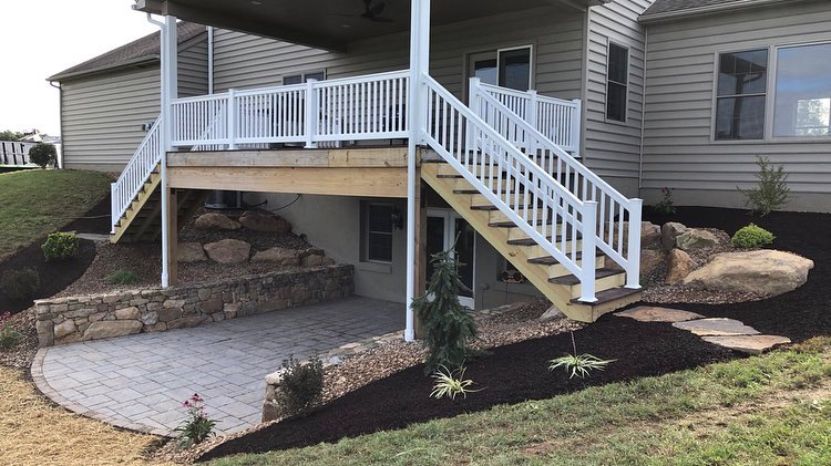 5 Best Landscape Design Ideas to Make Space Under Decks in Allentown, PA
