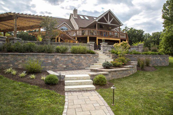 Landscape Contractor's Design Tips for Tackling a Sloped Yard in Allentown, PA