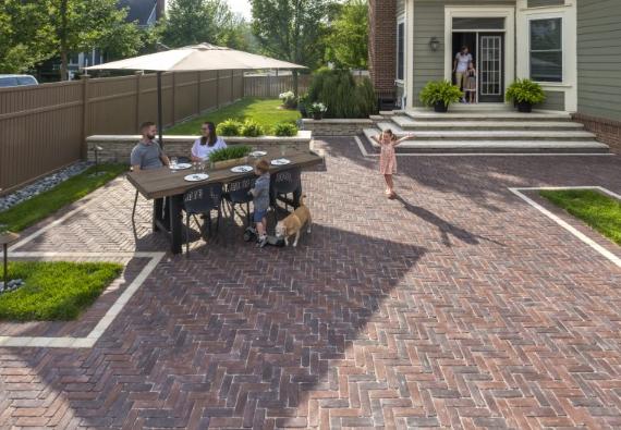 How a Paver Patio Can Reduce Your Allentown, PA, Landscape Maintenance