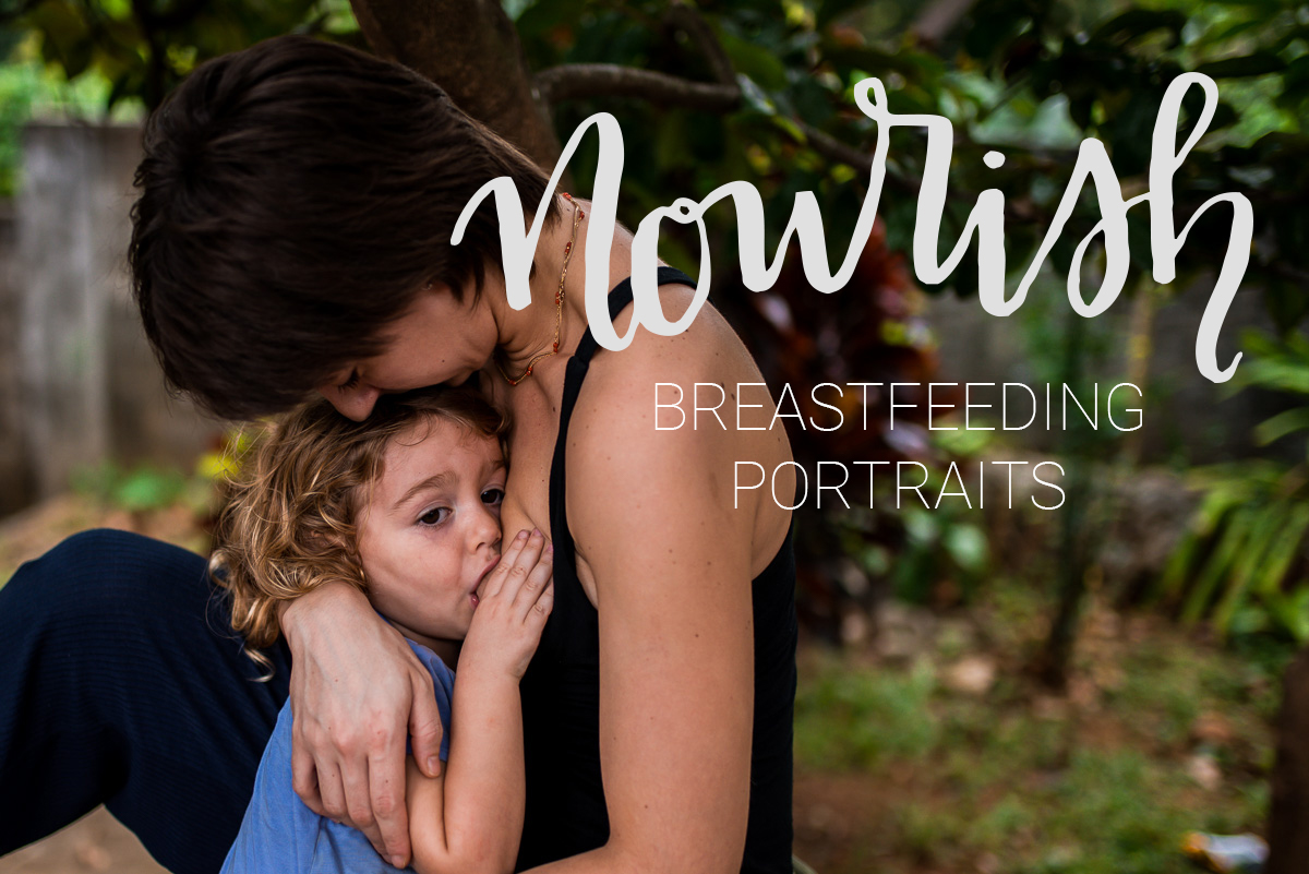 Grand Rapids Breastfeeding Portrait Photography