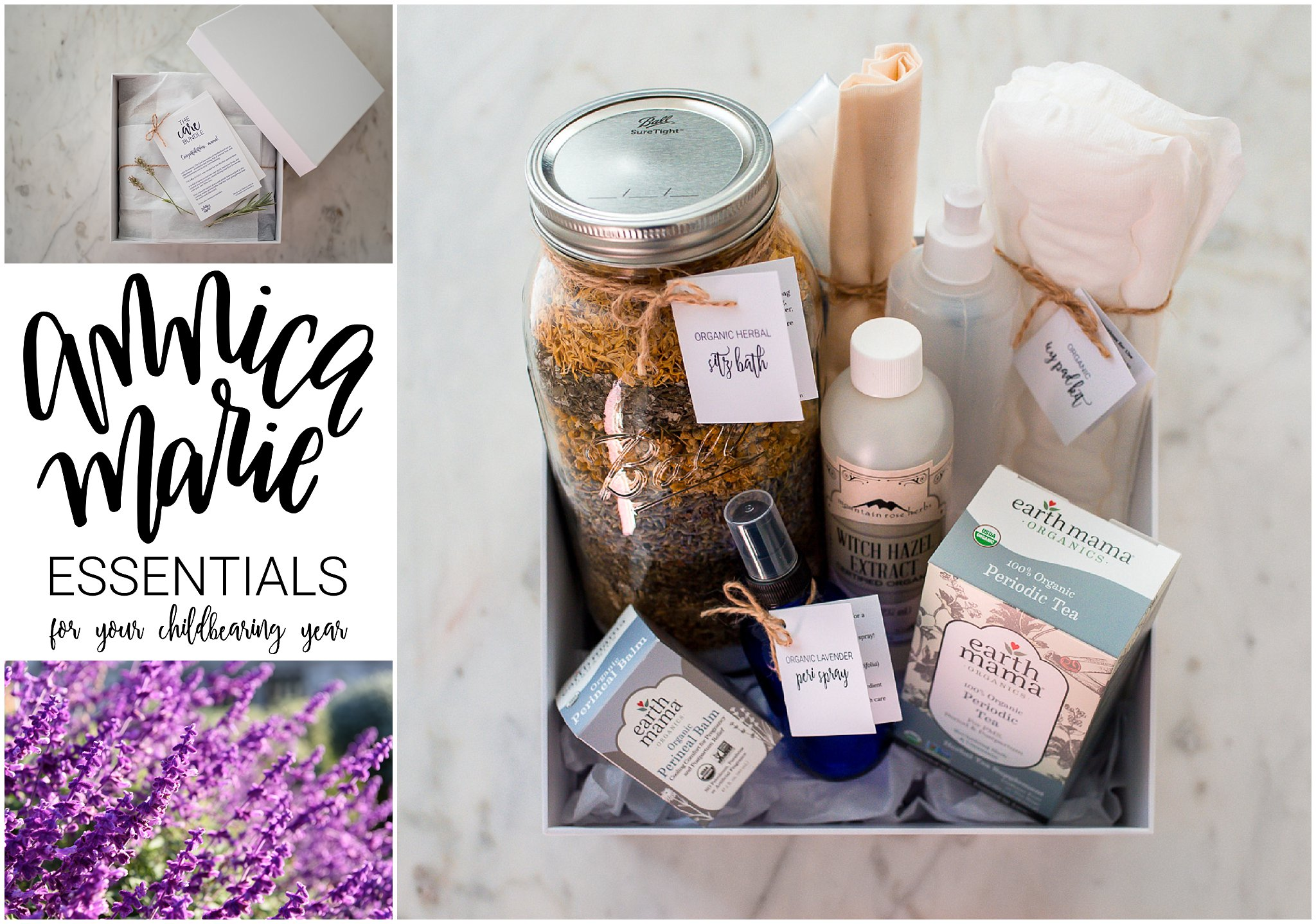 Annica Marie Essentials Lavender flowers the care bundle sitz bath