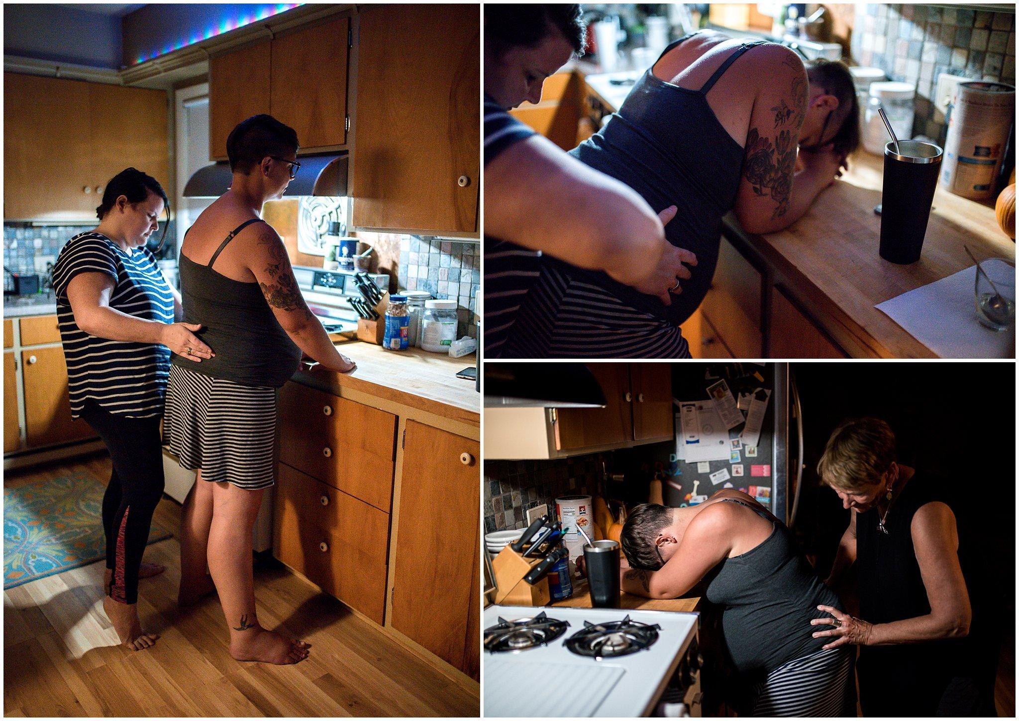 Grand Rapids home birth photographer - Annica Quakenbush - West Michigan birth photography