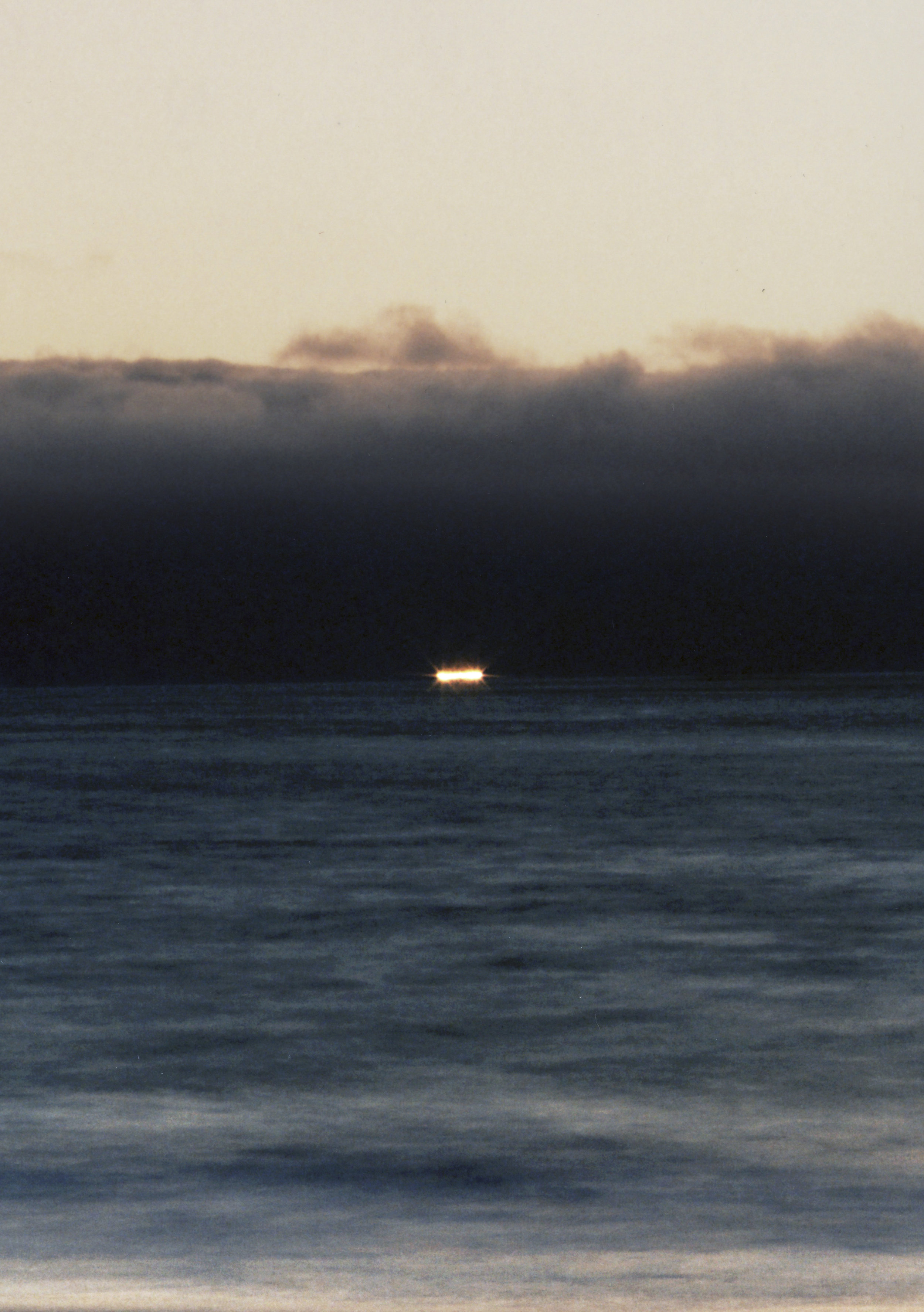 Crab Fishing Boat at the End of the Horizon