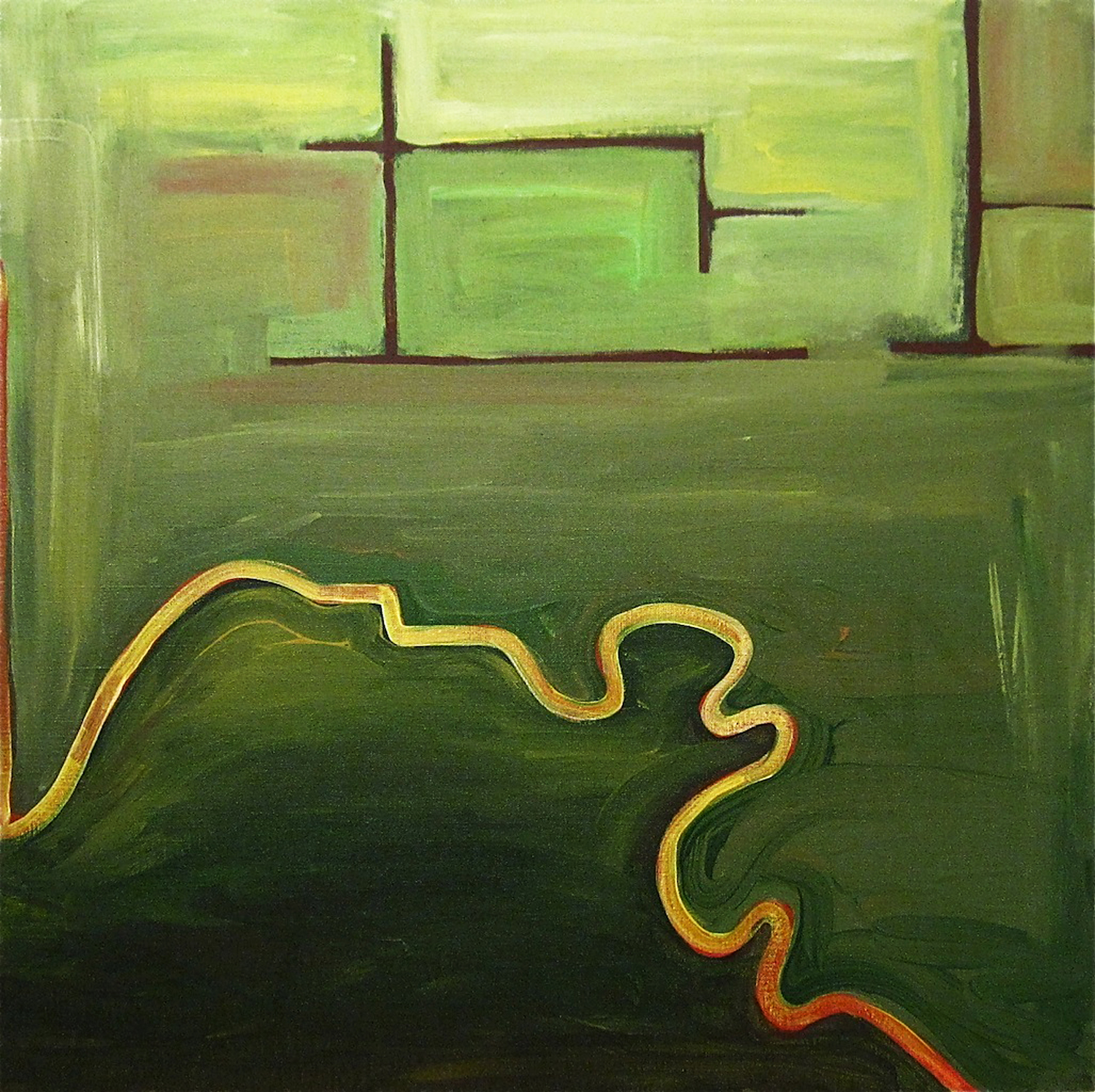 THE PLACE PAINTINGS: Place of Memory