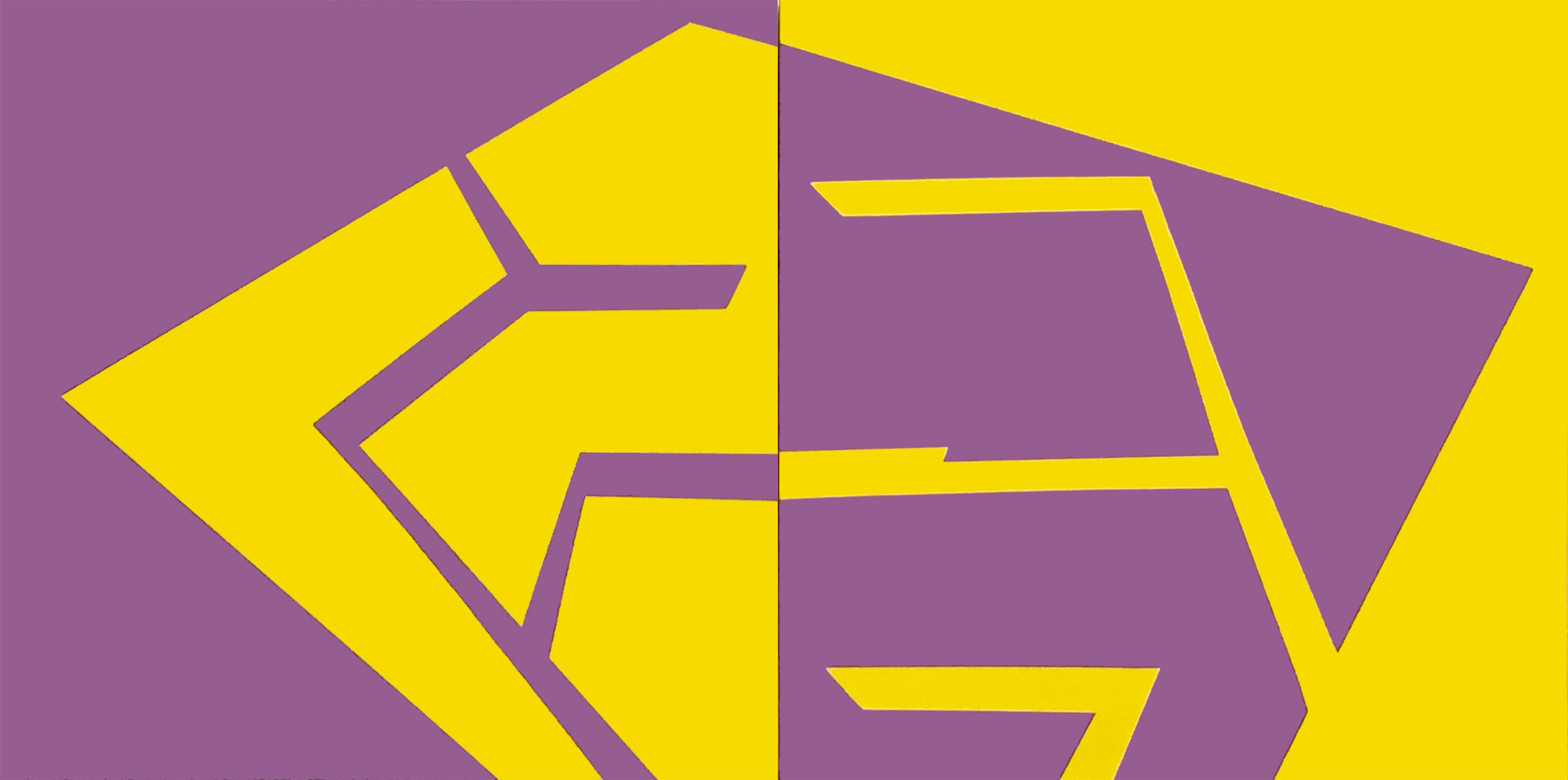 PLACE OF DIFFERENCE: Purple and Yellow