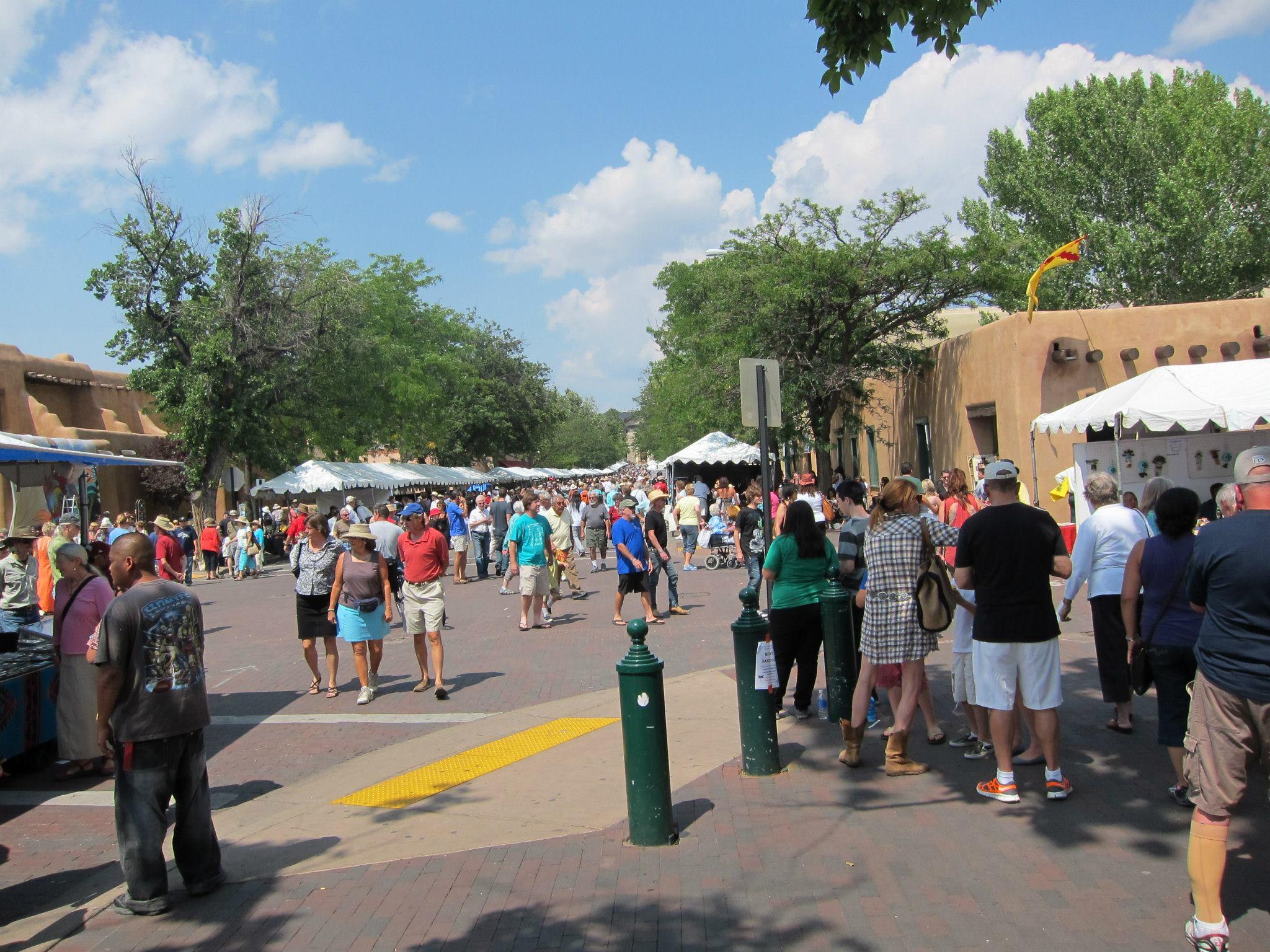 SWAIA Santa Fe Indian Market 2012