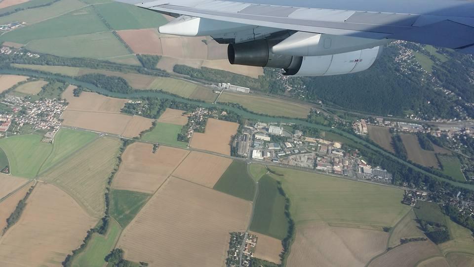 Landing at Charles de Gaulle