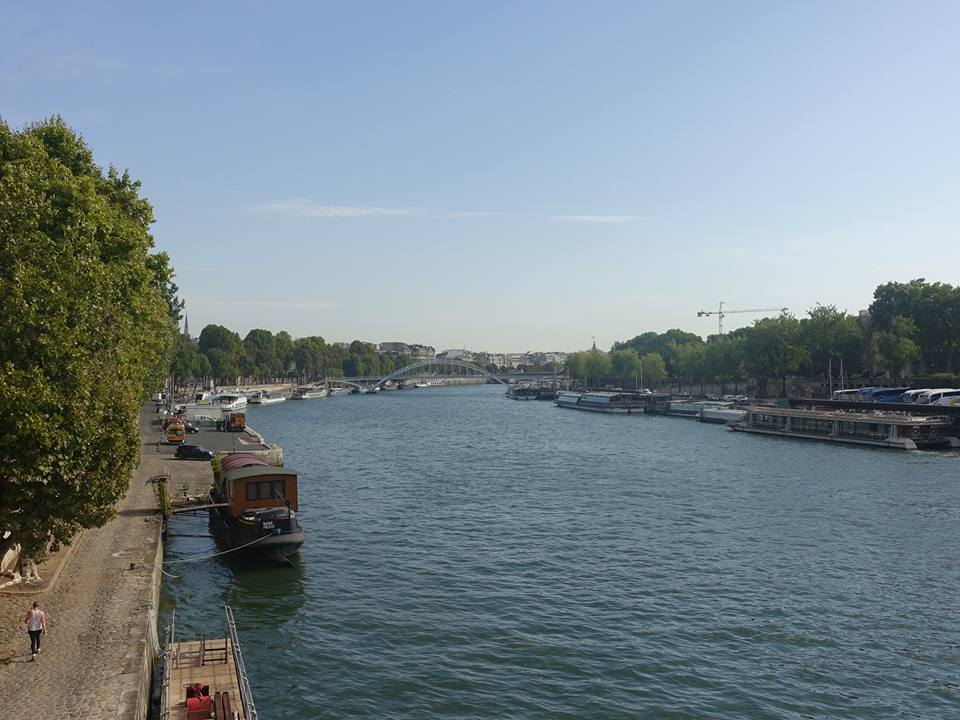 View Down the Seine