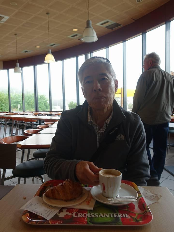 Refreshments at La Croissanterie