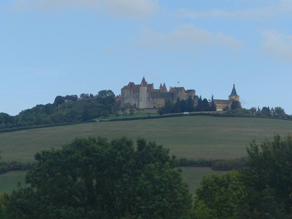 On Our Way to Burgundy and Beaune