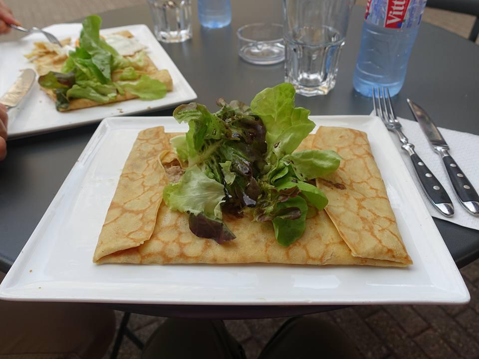 Dinner in Beaune, France