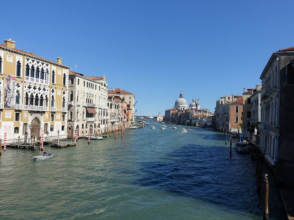 Day and evening in Venice