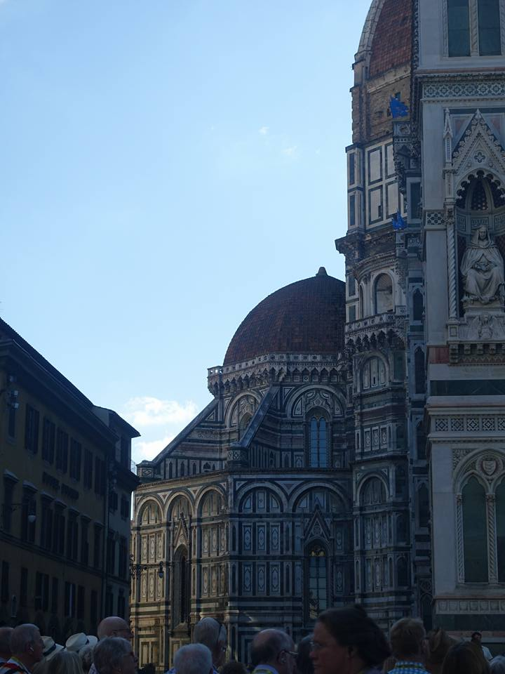 Florence, Brunelleschi's Dome, the Uffizi with Michelangelo's David