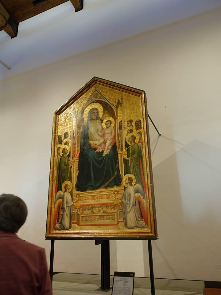 Ognissanti Madonna (Madonna in Maestà) by Giotto Di Bondone