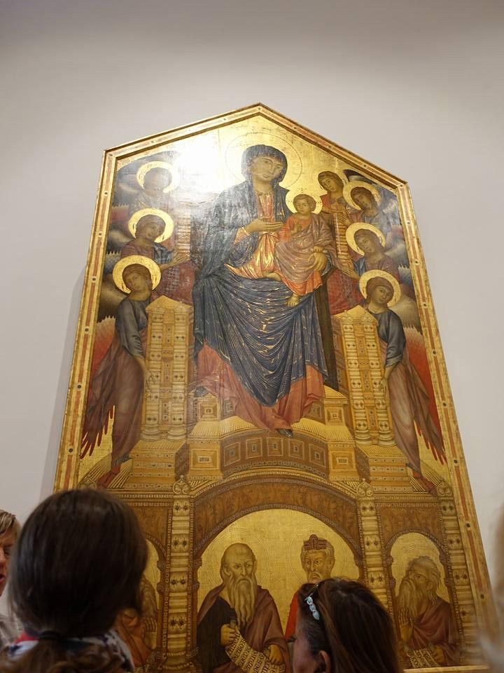 Madonna di Santa Trinita :: Cimabue Tra il 1280 e il 1290