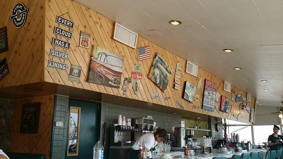 Breakfast in Tucumcari at Kix on 66