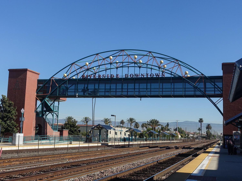 Riverside Metrolink and Train Station