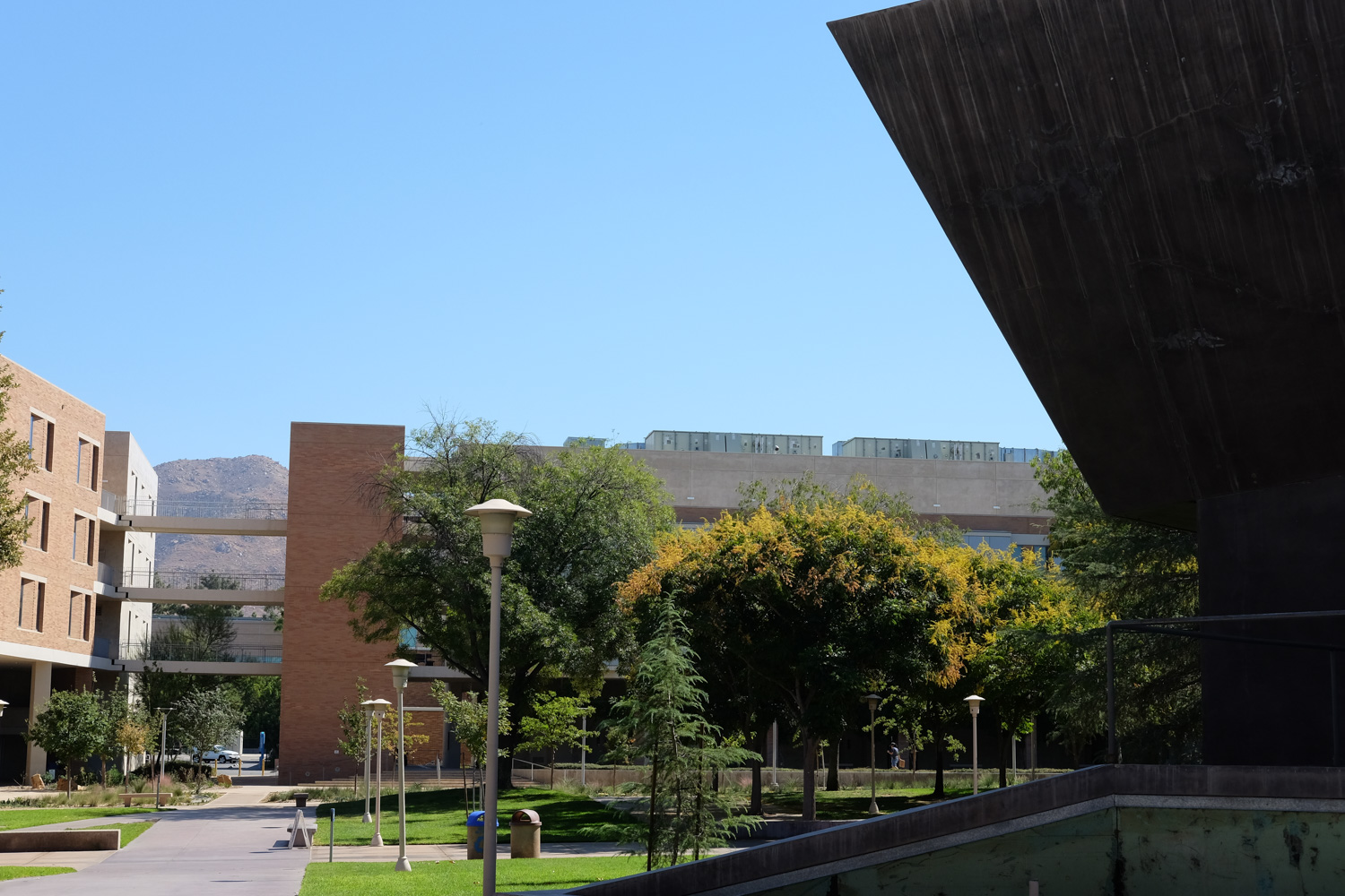 View from Arts Building