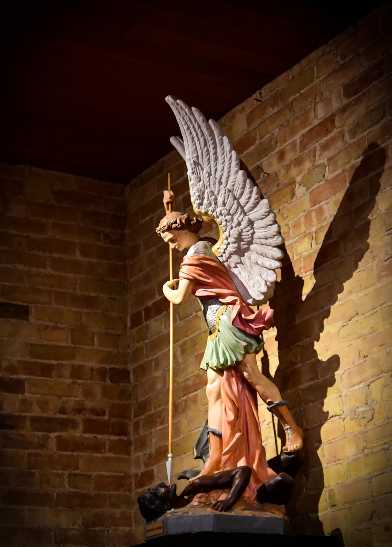 Saint Michael the Archangel, San Albino Basilica