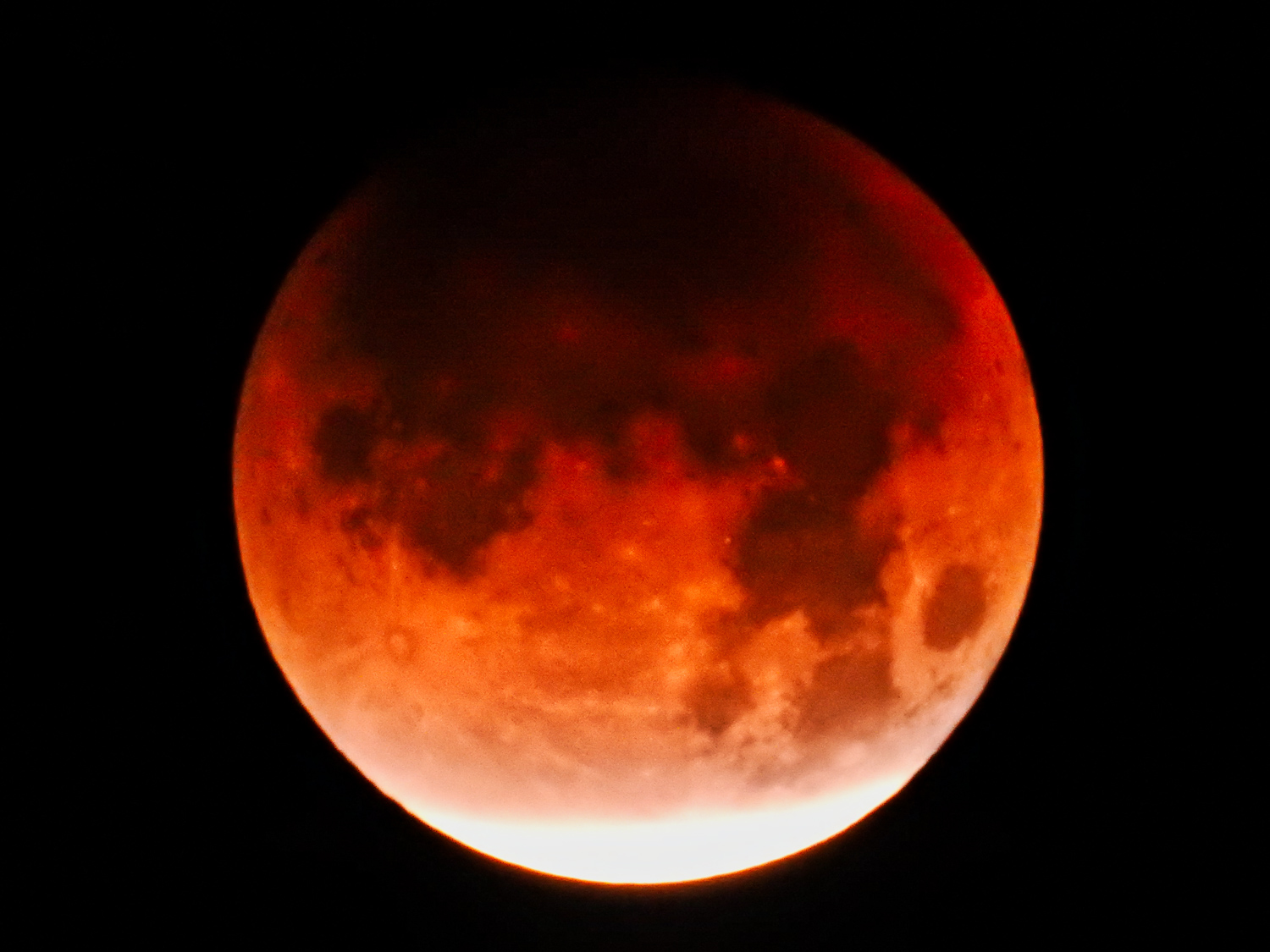 Eclipse, Supermoon, a Blue Moon and Blood Moon