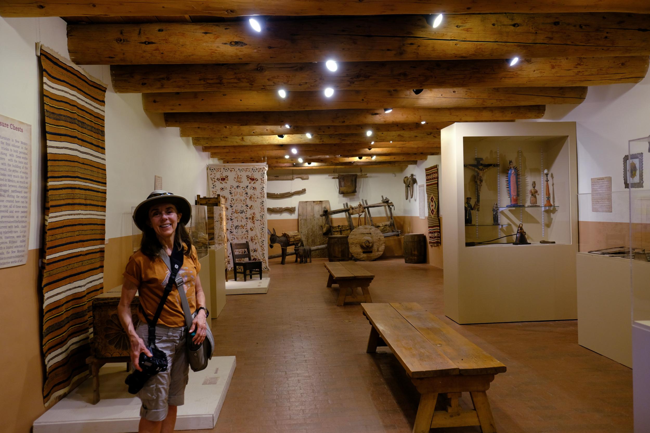 Las Golondrinas Exhibit Hall