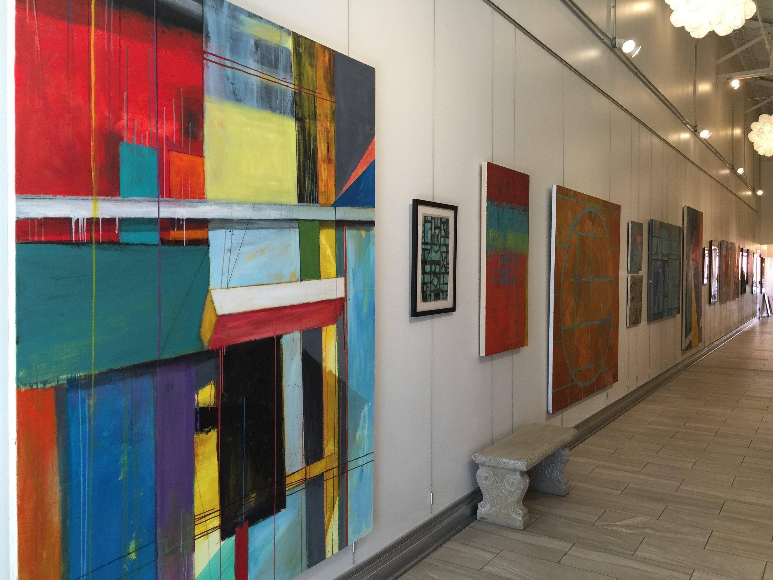 Susan Morrison-Dyke and Tony Dyke: Recent Work, Oct 2016-Jan 2017