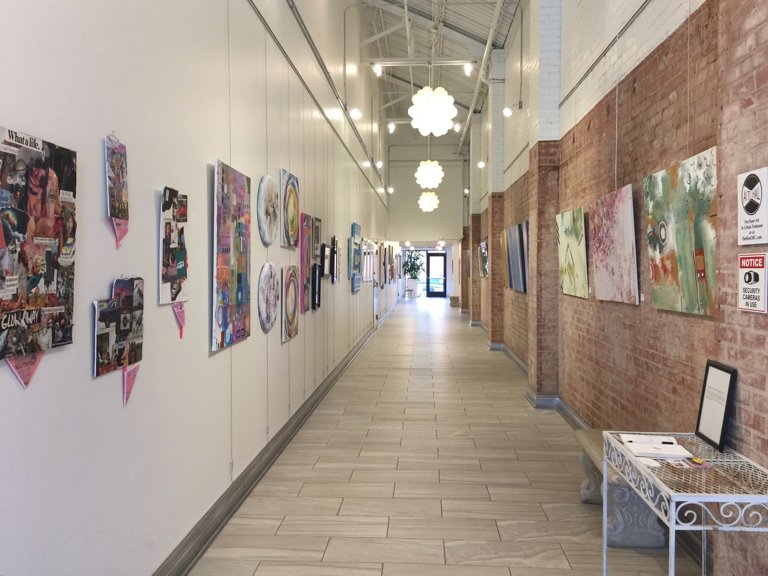 SideStories Exhibition, Facing North