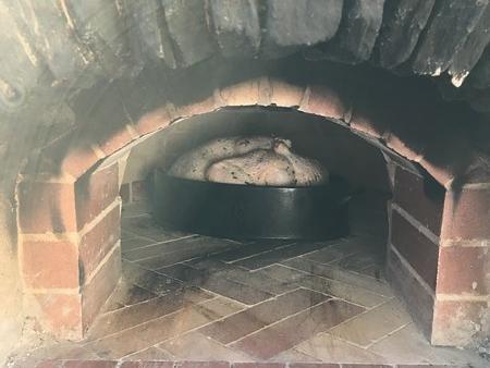 Thanksgiving turkey in oven.jpg