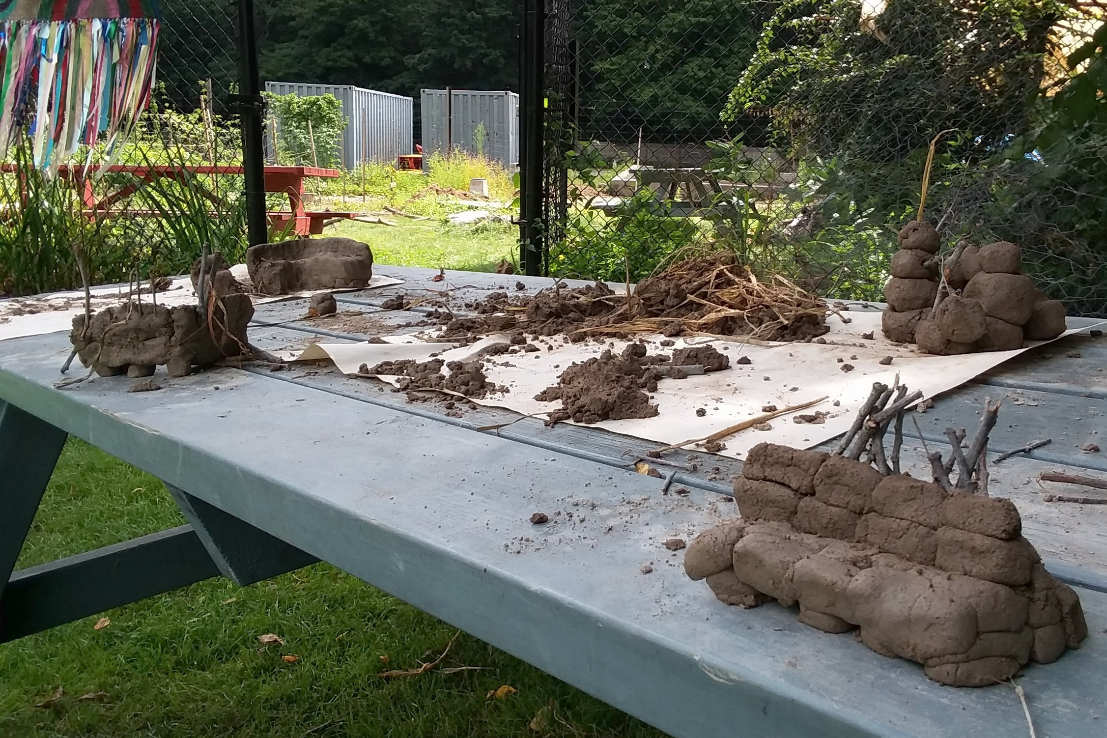 Clay Bench Prototypes