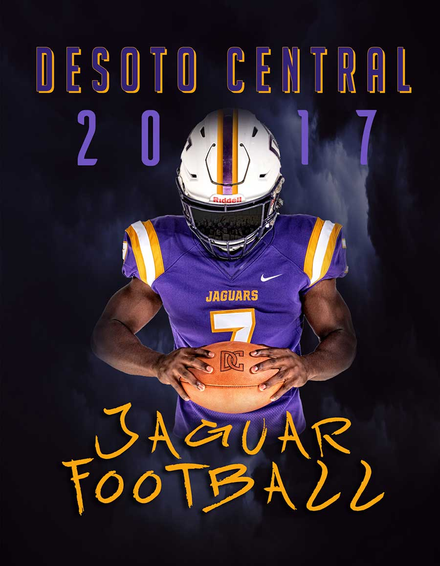 GRAPHIC DESIGN   |    FOOTBALL PROGRAM AND COVER