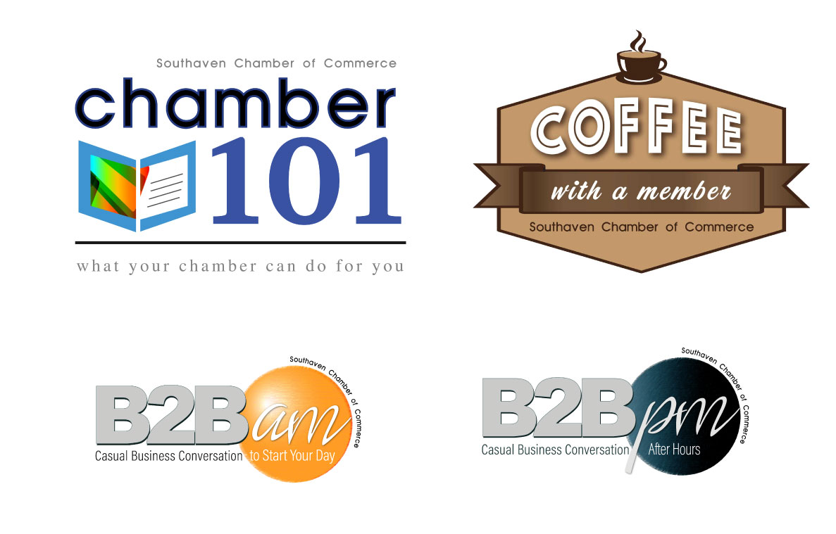 GRAPHIC DESIGN   |   BRANDING OF SEVERAL EVENTS FOR SOUTHAVEN CHAMBER OF COMMERCE