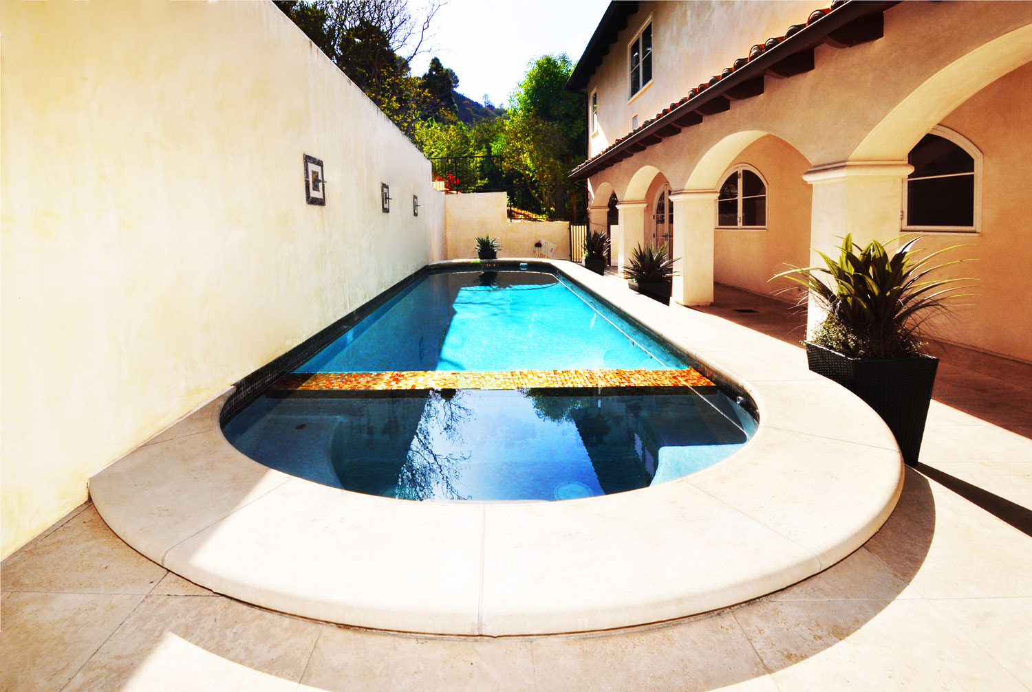 The Poon Residence, swimming pool