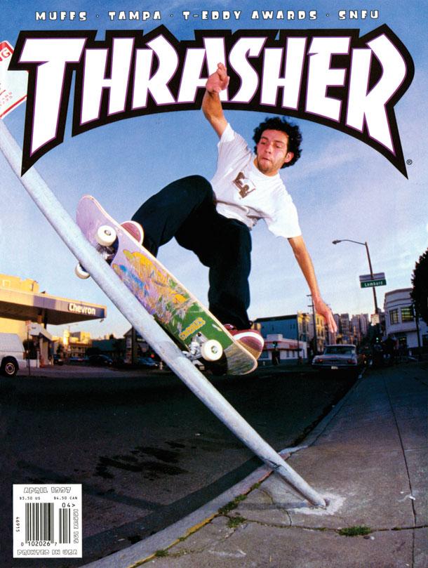 Thrasher cover, April 1997