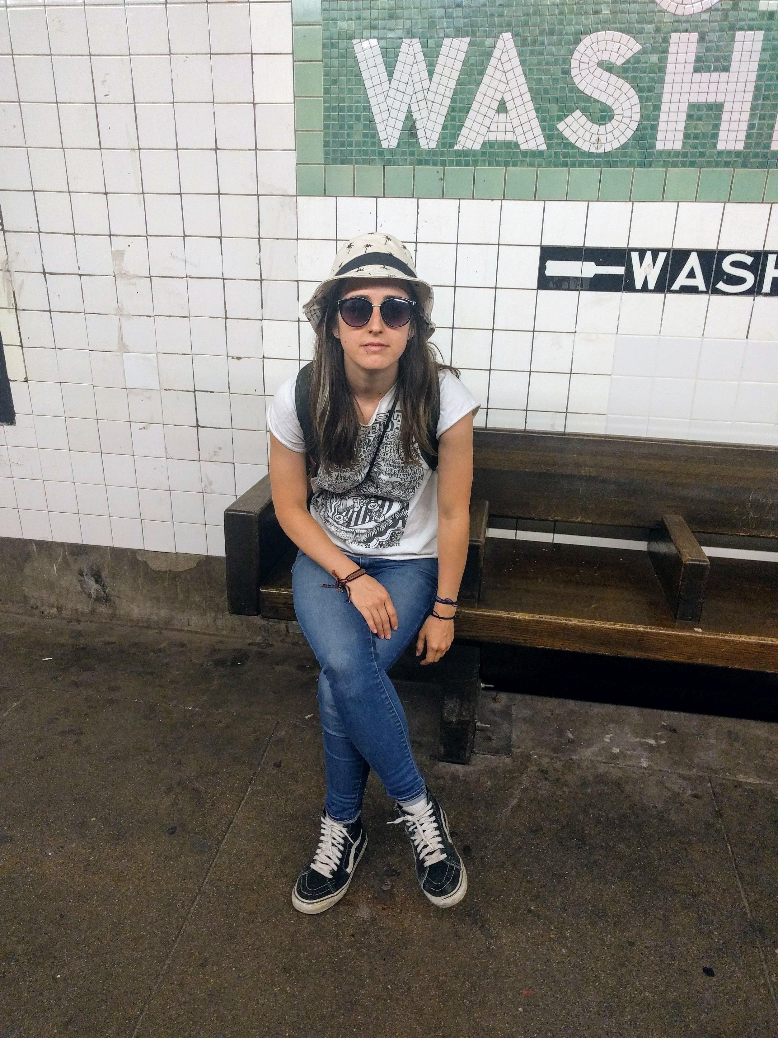 My city subway rat