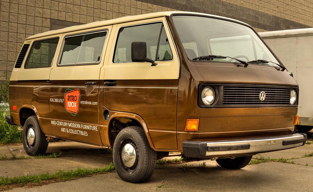 New Retro Knox Delivery Van