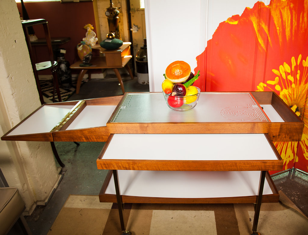 Vintage Warming Table
