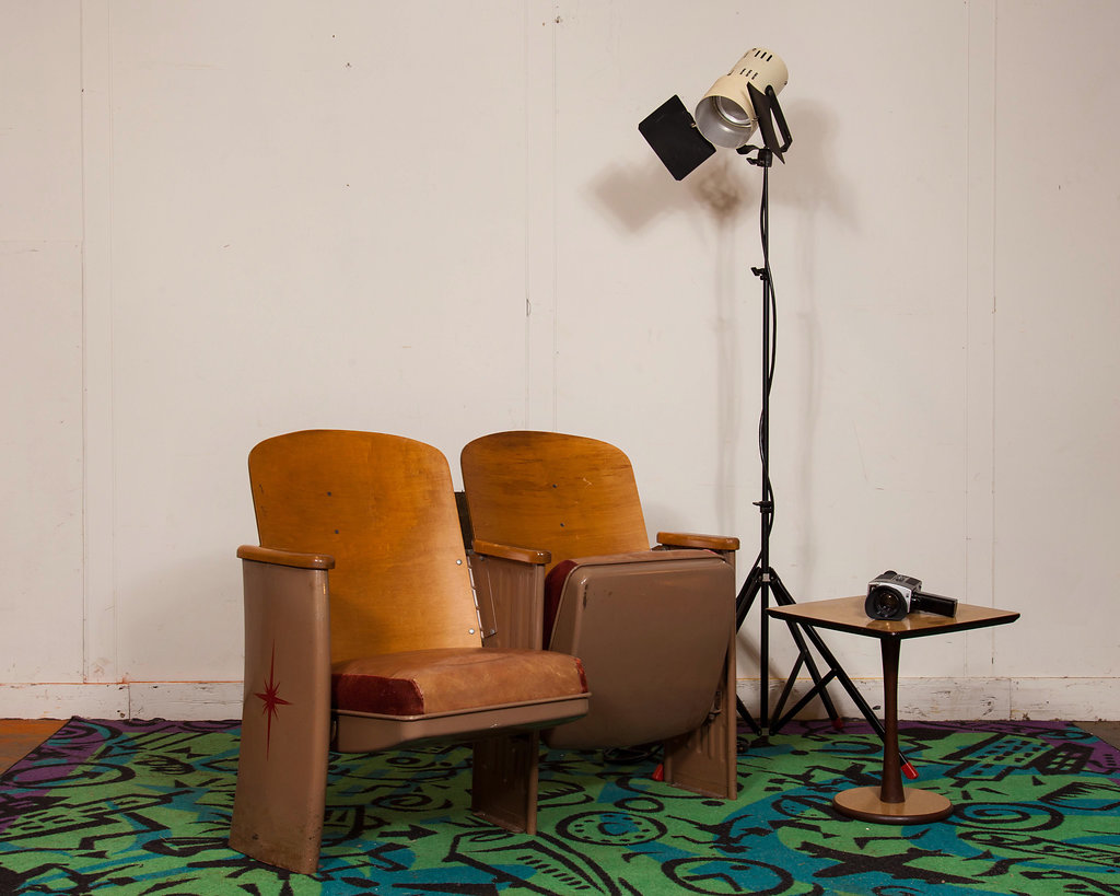 Have fun decorating in the New Year with the latest vintage theatre seating