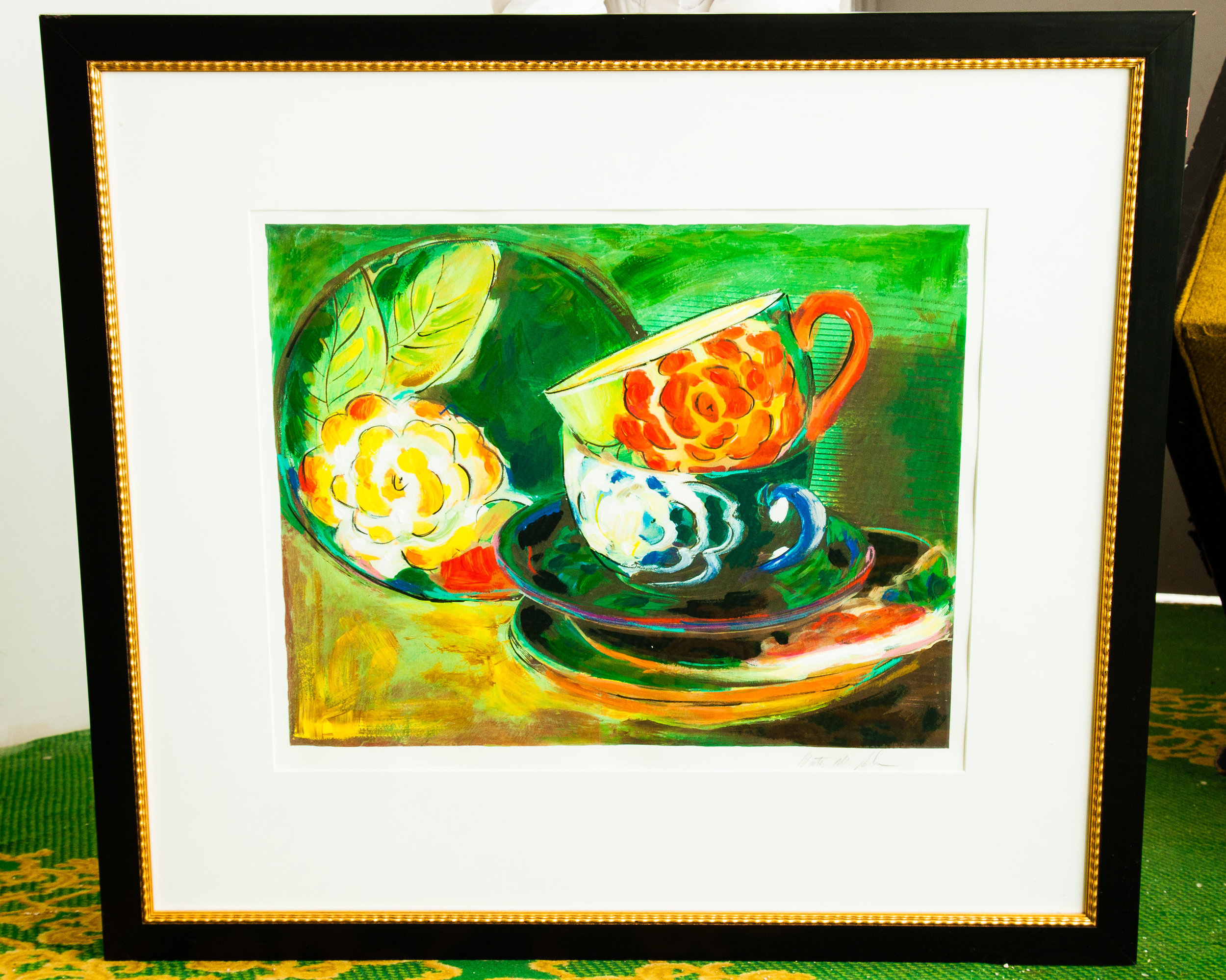 Retro Knox offers beautiful wall art pieces like this 1970's Large Oil Painting.